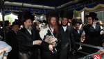 Hachnusas Seifer Torah to the Belz Shul 'Beis Yosef Shmuel' in Boro Park