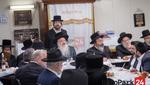 "Yurtzeit of the Bluzhev Rebbe Zy""u by his Grandson the Bluzhev Rebbe"