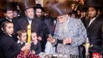 Dinev Rebbe by Havdalah at The Home Of Reb Wolf Sicherman Author Of The Seifer Oitzer Peluois Hatorah and Rosh Hakuhel Of Kehilas Minkatch