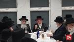 "Yurtzeit of the Ach Pri Tevuah of Liska Zy""u by the Rebbes of Liska and Hivniv"