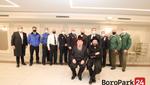 Staten Island Grand Rav, Harav Tzvi Pollack Shlita and his son, and Rosh Kollel, Harav Chaim Yehuda Pollack, of the Agudath Shomrei Hadas Shul honor the Uniform Services
