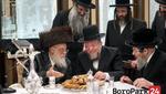 Toldos Aaron Rebbe Visits Kollel Zichron Dovid Levi, Headed by Reb Volf Zicherman