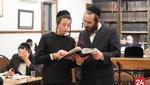 Yoim Shekuloi Torah in the Skver Shul on 12th Ave in Boro Park