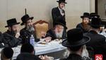 "Yurtzeit of the Imrei Yosef of Spinka Zy""u by the Spinka Rebbe"