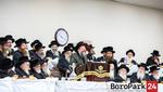 "Yurtzeit of the Bobov Rov Zy""u by the Bobov-45 Rebbe"