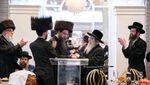 Sheva Bruches for son of Rosh Yeshivas Nesivas Hatalmud