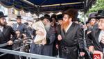 Hachnusas Seifer Torah to the Dzhikev Visnitz Shul in Boro Park