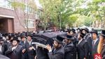 "Hundreds attend Levaya of Mrs. Chaya Blima Silber A""h, Granddaughter of the Freimaner Rov Shlit""a"