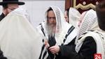 Satmar Rebbe Visits the new Satmar Shul in Monsey