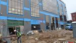 Construction at New Belz Talmud Torah Building Progressing Along