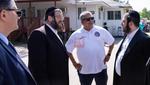 Brooklyn District Attorney Eric Gonzalez Visits The Jewish Community In The Catskills