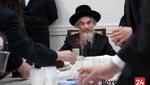 Loitzk Rebbe visits Boro Park
