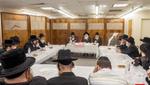 Haschulas Kesivas Seifer Torah at Bluzhev Beis Medresh in Boro Park