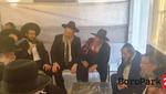 "GALLERY: Rabbonim, Roshei Yeshiva, and Admorim at Nichum Aveilim for Rav Sholom Ber Sorotzkin, shlit""a, Rosh Yeshivas Ateres Shlomo, who sat shiva for his sister at the home of his father, Rav Binyomin Sorotzkin shlit""a"