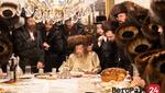 Lelov Nikolsburg Rebbe Motzei Shabbos in Boro Park