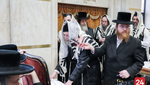 Vach Nacht and bris for Great Grandson of the Minkacth Rebbe, grandson of the Minkatch Rosh Yeshivah