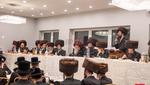 Sheva Bruches for a grandson of the Serdaheli Rebbe