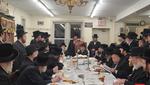 "Yurtzeit of Rabbi Yitzchok of Skver Zy""u by the Skver Boro Park Rebbe"